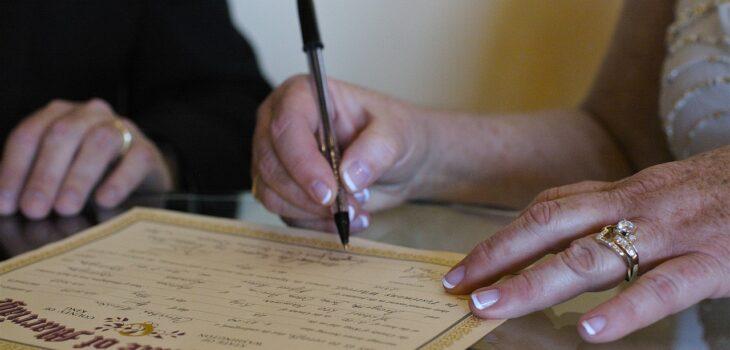 Certificado de matrimonio en Brasil
